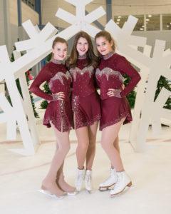 Christmas Ice Skating Dress.Tina S Skate Wear Custom Made To Fit Figure Skating Dresses